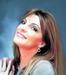 Portrait of Magdalena Wozniak-melissourgaki